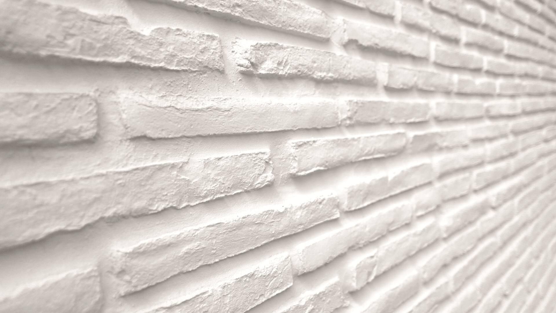 Old Brick Offwhite Duvar Paneli