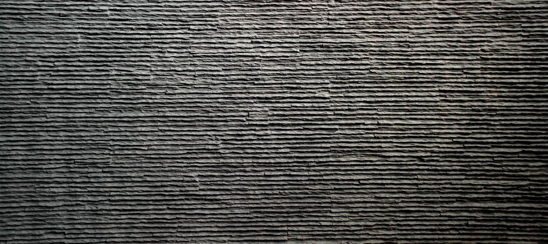 Serrate Anthracite Taş Duvar Kaplama Paneli (YENİ)
